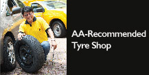 AA Recommended Tyre Shops