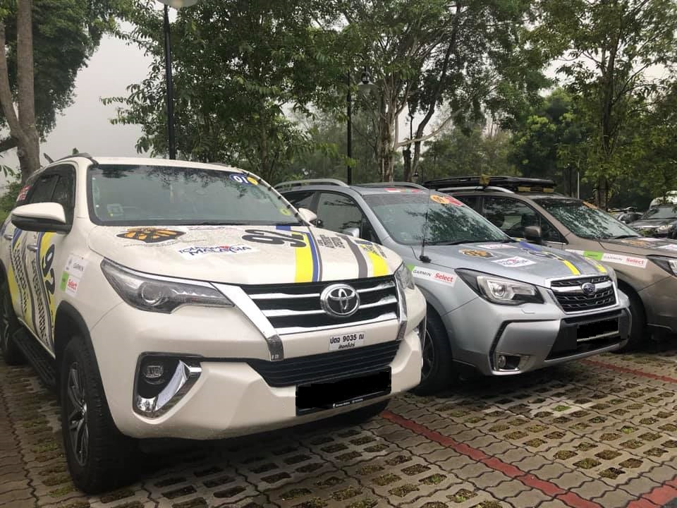 pre tripbrief Fortuner and forester