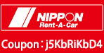 nippon rent a car coupon 30 off